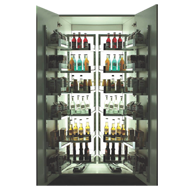 Glass Pantry with Silent Soft