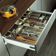 Cutlery Tray - 450mm - SS Finish