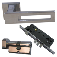 Door handles with Lock - CP