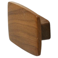 QUATTRO Cabinet Knob - 32mm - Wood Waln