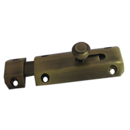 75 Premium - Brass Baby Latch - Antique Brass Finish