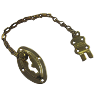 Intro Door Chain - Gold Finish