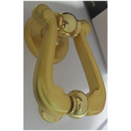 Geneva Door Knocker - Gold/Matt Gold Fi