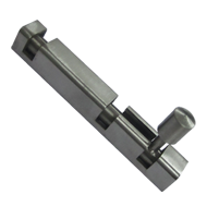 Square Tower Bolt - 4 Inch - SS Finish