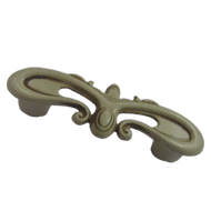 Cabinet Handle - 64mm - Old Bone Finish