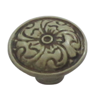 Cabinet Knob - 33mm - Old Bone Finish