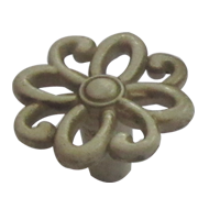 Cabinet Knob - 46mm - Old Bone Finish