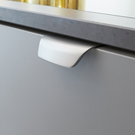 WOW Cabinet Handle - 96mm - Bright Chrome Finish