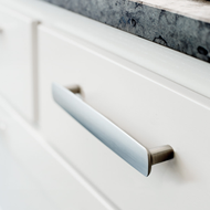 MIRROR Cabinet Handle - 320mm - Inox Look Finish