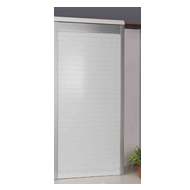 Glass Rolling Shutter - 600X1500mm - Satinato Finish