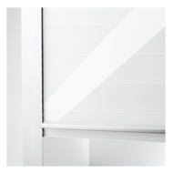 Glass Rolling Shutter - 600X1500mm - White Finish