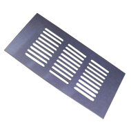 Ventilation Grill - 150mm - Chrome Plat
