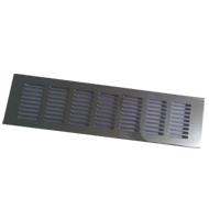 Ventilation Grill - 300mm - Chrome Plat
