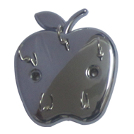 Apple Key Hook - Chrome Plated Finish
