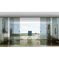 Glass Door Telescopic (Syncronised) Sys