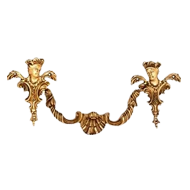 Cabinet Handle & Pull with rose - Old Gold Finish