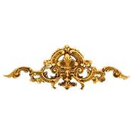 Furniture Stud - Old Gold Plated Finish