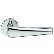 Tieste Mortise Door Handle - Polished C