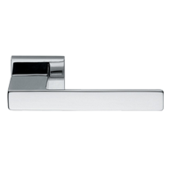 Mortise Door Handle - Chrome Finish