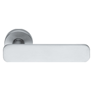 Giasone Mortise Door Handle - Satin Chr