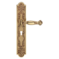 QUEEN Small Mortise Handle on Plate - 8