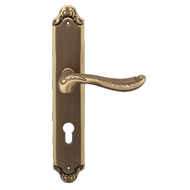 LADY Mortise Handle on Plate - 8x85 - B