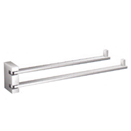 Swing D Towel Bar - Chrome Plated Finish