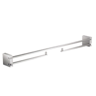 Swing L Towel Bar - 600mm - Chrome Plated Finish