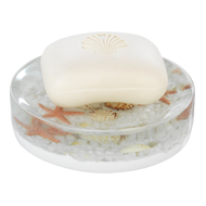 BEACH Soap Dish - White Colou