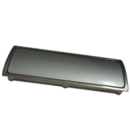 Flush Cabinet Handle- SS/Silver  Finish