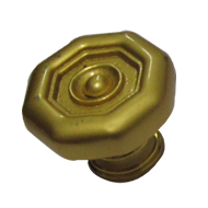 Cabinet Knob - Matt Gold  Finish - Dia
