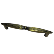 Cabinet Handle - Antique Finish - CC:100mm - Overall:110mm