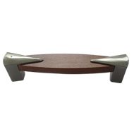 Cabinet Handle  - Wooden/Stainless Stee