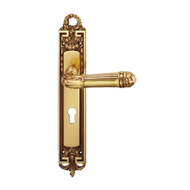 VERSAILLES Mortise Handle on Plate - Ol