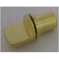 Concealed Button Thread(Med) - Gold Finish