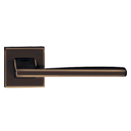 LINK Lever Handle on rose - Imperial Br