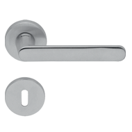 ZANTE Lever Handle on Rose -