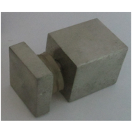Square Stud - 25mmx25mm - SS Finish