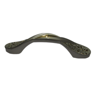 Cabinet Handle  - Aluminium/Gold Finish