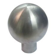 Round Cabinet Knob - Stainless Steel Fi
