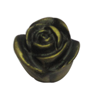 Rose Cabinet Knob - Antique Finish - 30