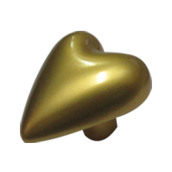 Cabinet Knob - Matt Gold Finish - 30X25