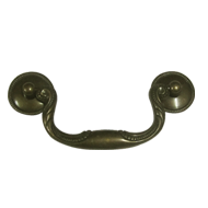 Cabinet Handle - Antique Brass Finish