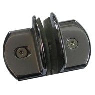 Patch Fitting T Type Connector - Chrome Plated Finish