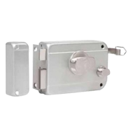 Painted Rim Lock - inside opening 1 side key & 1 side Knob(LH)