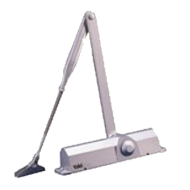 Surface Mounted Door Closer - Size 2 - 4 Fire Rated Easily Adjustable Arm Height (Hi