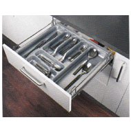 FUSION SERIES Cutlery Basket Pull Out - Carcass Size : 450mm - Size : (WxDxH) - 380x
