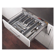 FUSION PLUS SERIES Cutlery Basket Pull Out - Carcass Size : 450mm - Size : (WxDxH) -