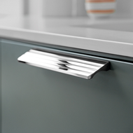 VILLA Cabinet Handle - Bright Chrome - 160mm
