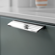 VILLA Cabinet Handle - Inox Look - 320m